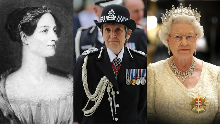 10 greatest women in British historical past
