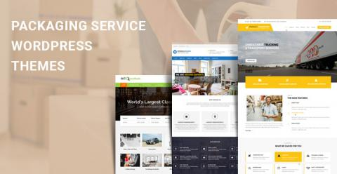 Packaging Service WordPress Themes for Moving & Packing Companies